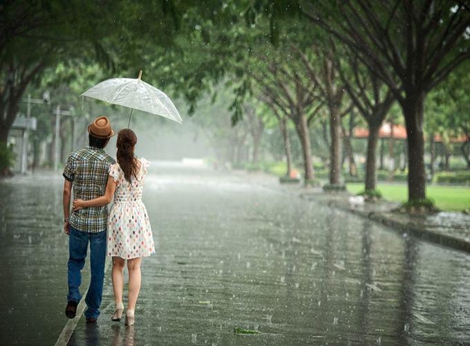 ý nghĩa giấc mơ thấy mưa